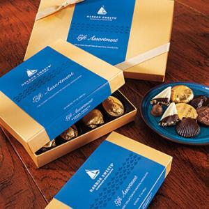 assorted chocolates gift box by harbor sweets