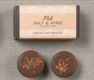 gluten free cafe au lait truffles by harbor sweets