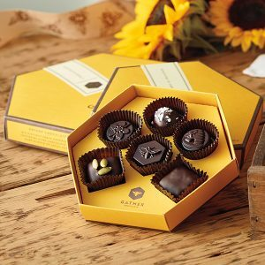 dark chocolates by harbor sweets