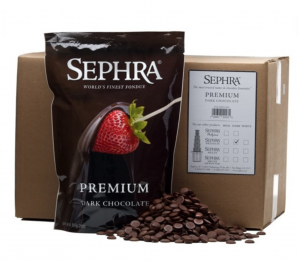 Sephra premium dark chocolate for chocolate fountains