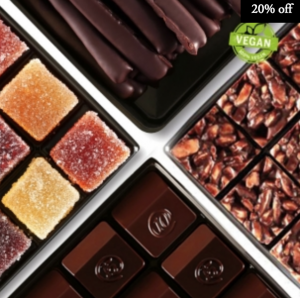 vegan assorted chocolate by zChocolat