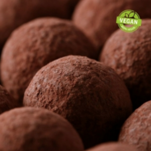 vegan chocolate truffles by zChocolate