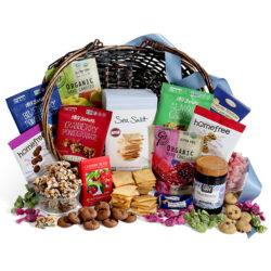 Classic gluten-free gift basket