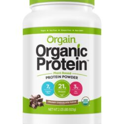 Orgain Organic Creamy Chocolate Fudge Protein Powder