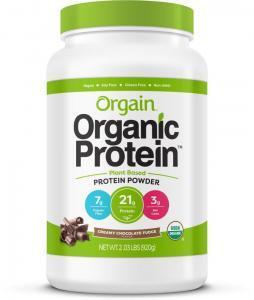 Orgain Organic Creamy Chocolate Fudge Protein Powder