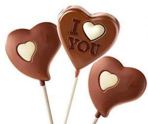 Chocolate Valentine Lollipops Vegan Gluten free