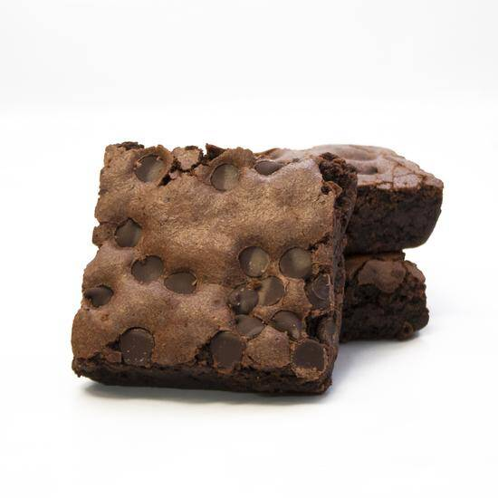 gluten free chocolate chip brownies 9 pack davids