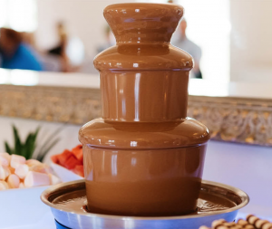 home chocolate fountain gluten free chocolate
