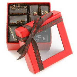Vegan chocolate gift box for valentines day