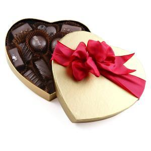 vegan chocolate heart box