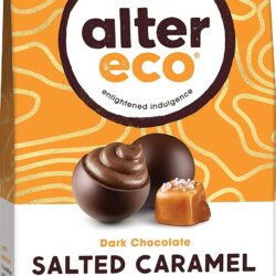 alter eco dark chocolate salted caramel truffles gluten free