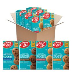 vegan gluten free soft baked cookies variety pack enjoy life