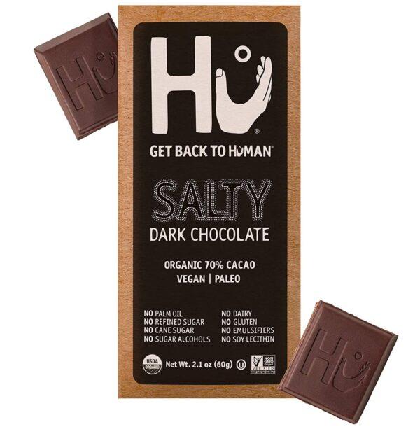 Hu Salty Dark Chocolate bar vegan gluten-free