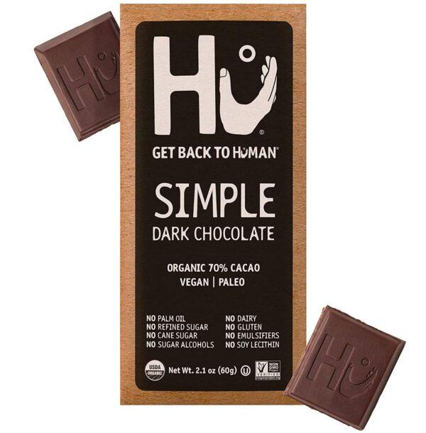 Hu vegan gluten-free 70% dark chocolate bar