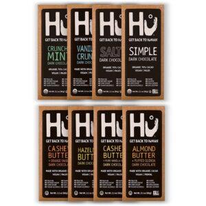 Hu vegan gluten-free organic chocolate variety pack
