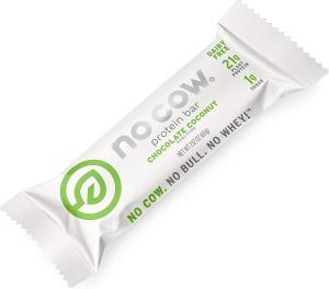 No Cow Protein Bar chocolate coconut