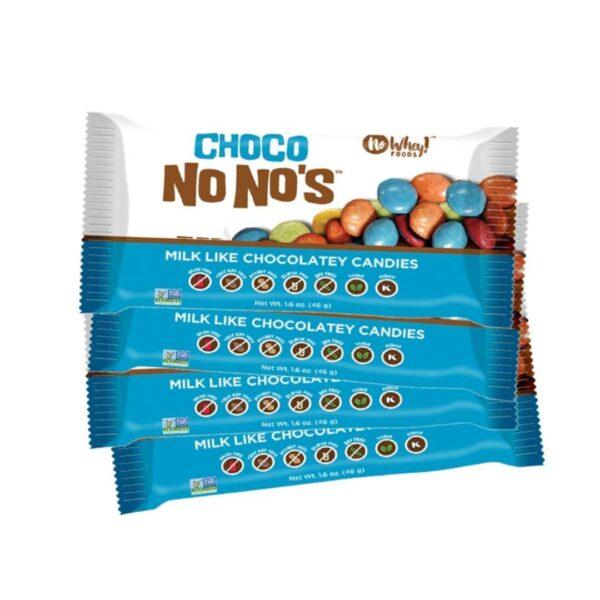 no whey choco no nos vegan gluten free chocolate candies