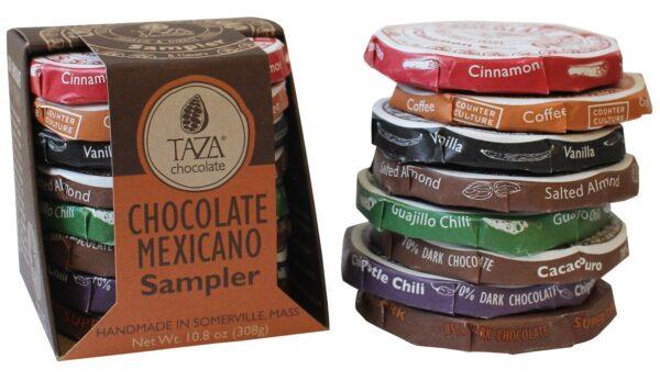 vegan gluten free taza chocolate mexicano sampler